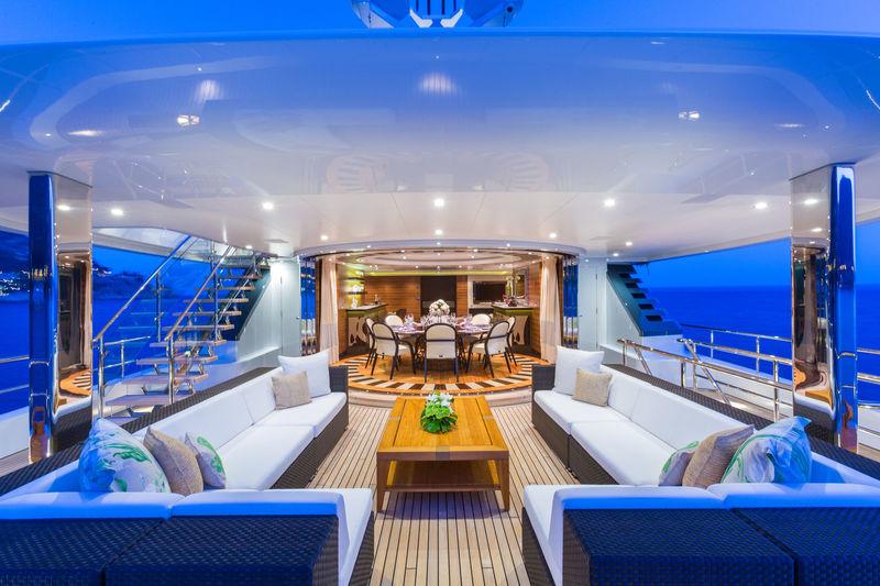 Larisa upper aft deck