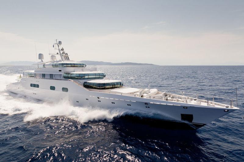 ZEUS yacht Blohm & Voss