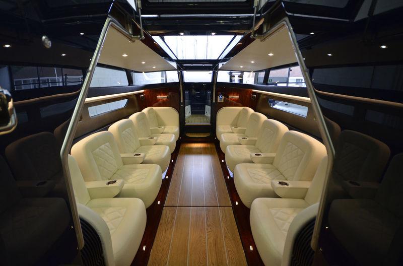 Jubilee 10.6m tender interior