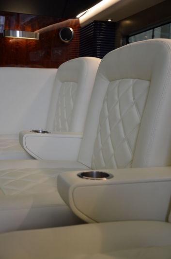 Jubilee 10.6m tender interior detail