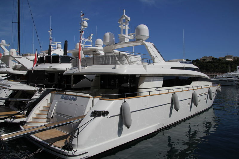 SPARKLING yacht Sanlorenzo