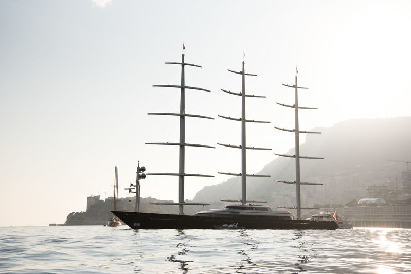 Maltese Falcon off Monaco