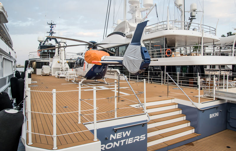 New Frontiers in Monaco ahead of the yacht show
