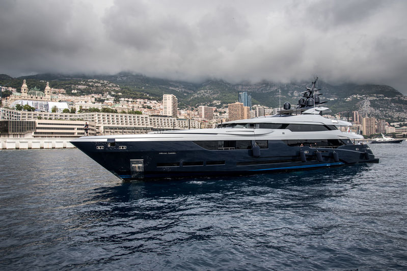 Sarastar arrives in Monaco ahead of the yacht show
