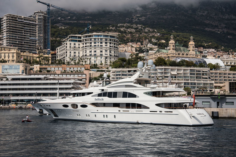 Latitude arrives in Monaco ahead of the yacht show