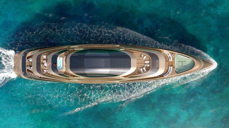 Benetti's 77m Se77antasette - Concept