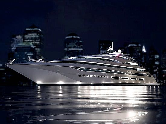 Privilege One yacht exterior design