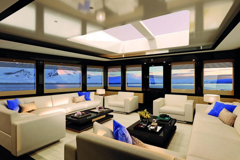 Damen SeaXplorer 55 interior design
