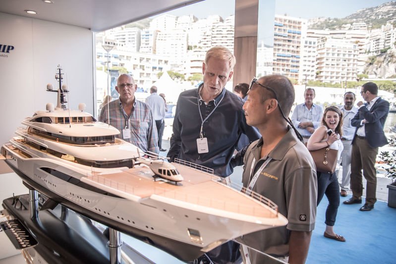 Feadship stand MYS 2017