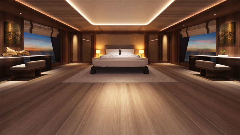 Fifty (50m) stateroom rendering