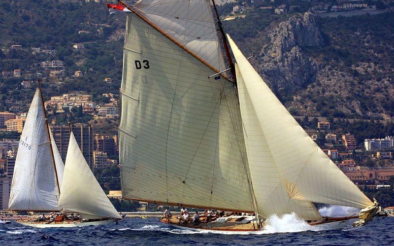Tuiga and Nan - 2002 Prada Challenge for Classic Yachts
