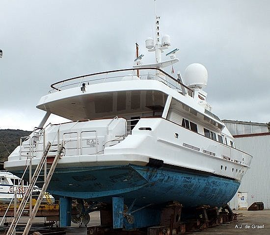 RAS yacht at Krk island