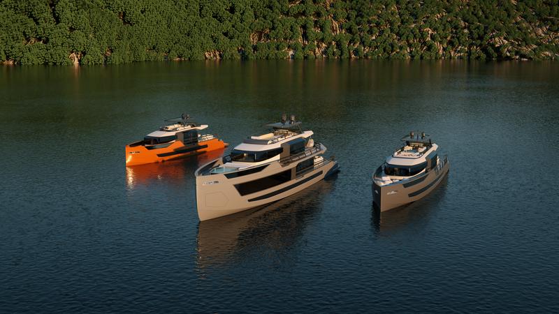 Sarp superyachts: XSR range