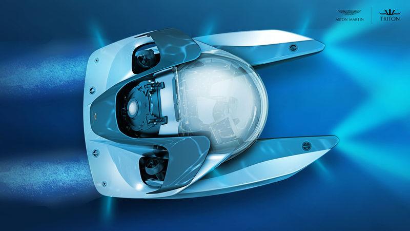 Aston Martin & Triton Sub - Project Neptune