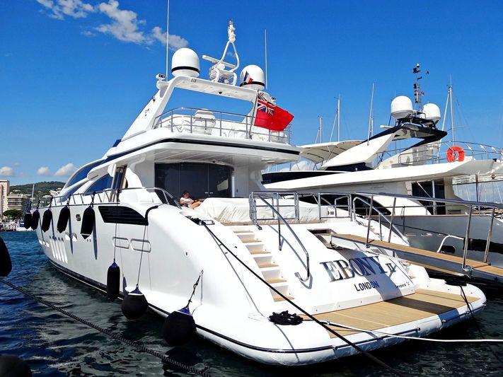 EBONY II yacht Leopard