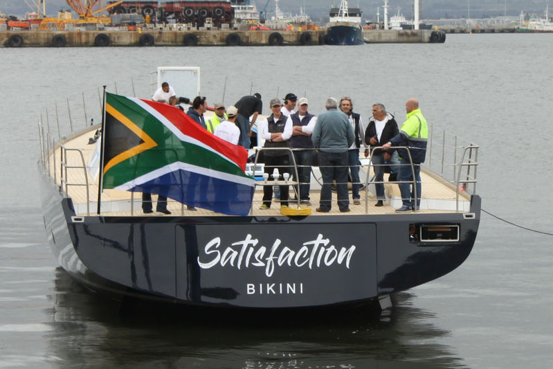 Satisfaction launch in Cape Town