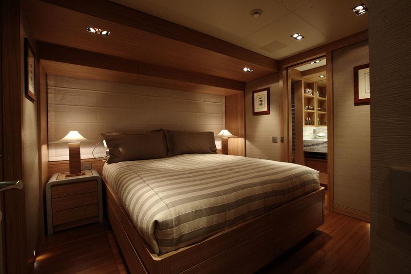 Exuma guests's cabin