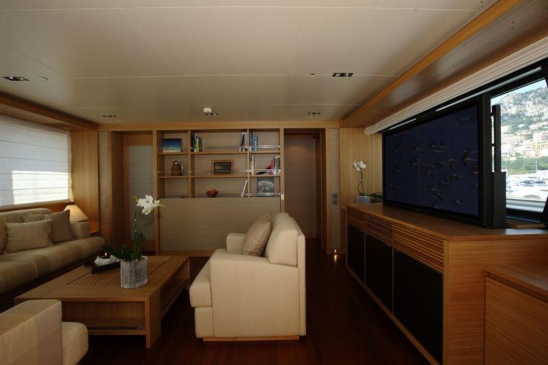 Exuma upper deck saloon