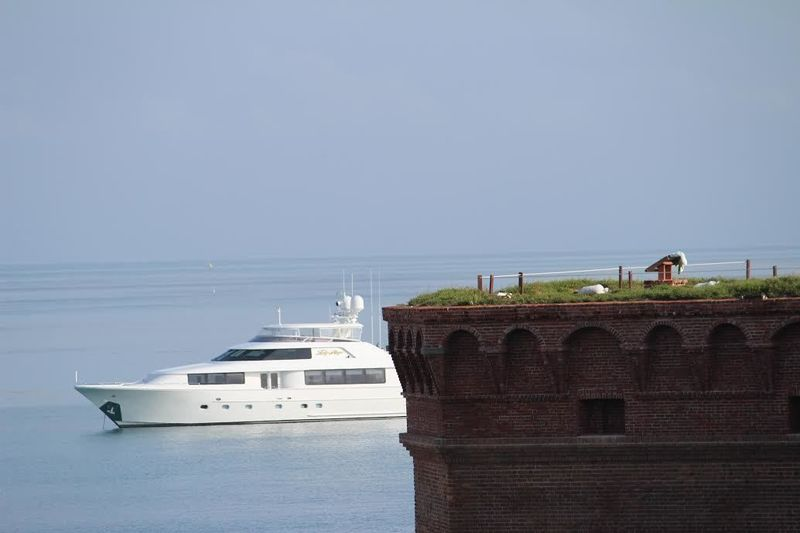Lady Raye in the Dry Tortugas