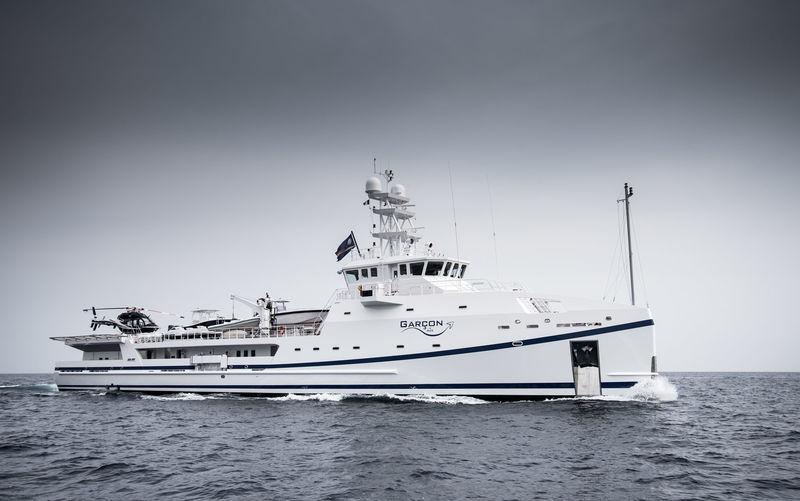 GARÇON yacht Damen Yachting