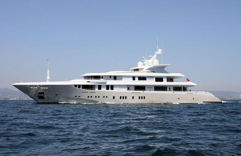 PLAN B yacht Abu Dhabi MAR Kiel