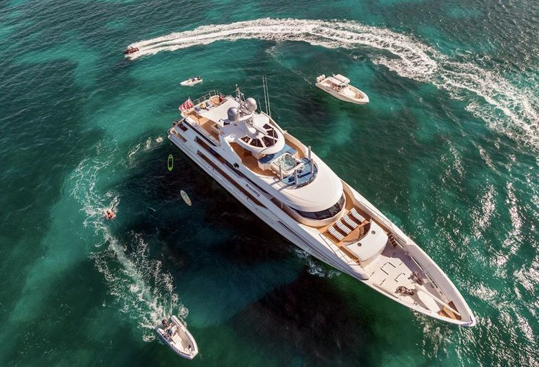 50m superyacht Trending, for charter with Camper & Nicholsons