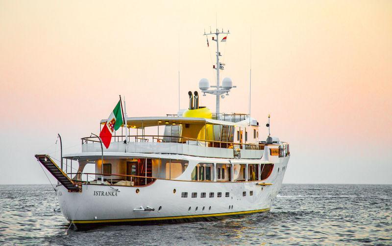 Istranka anchored off Monaco