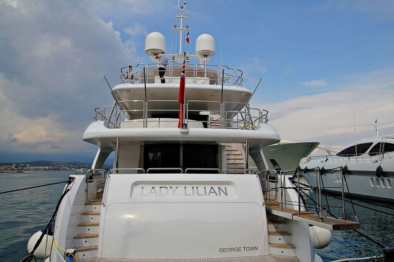 Lady Lilian in Antibes