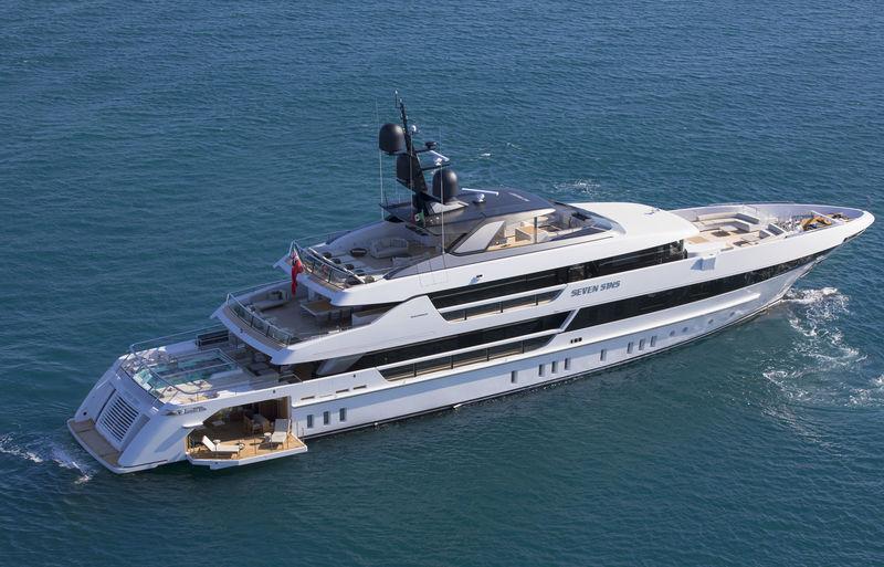 SEVEN SINS yacht Sanlorenzo