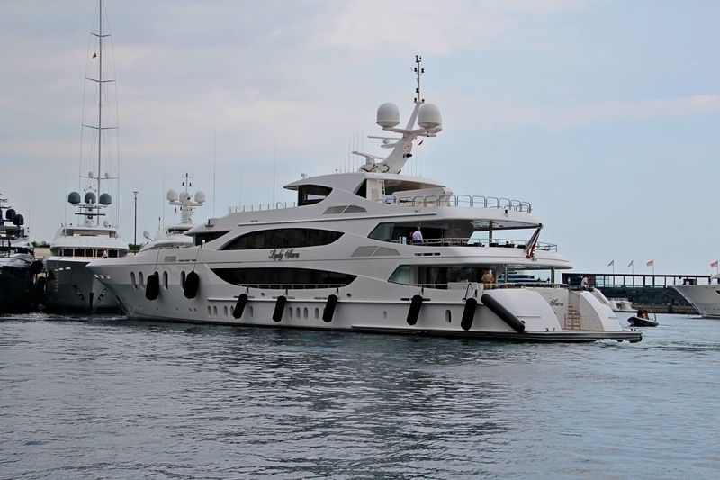 Lady Sara in Monaco