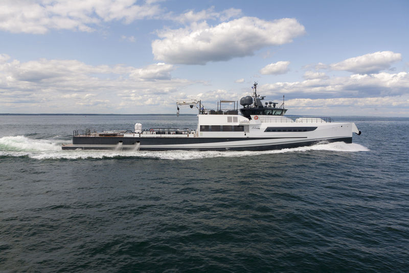 AXIS yacht Damen Yachting