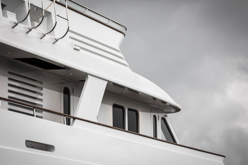 Project 697 Feadship 47m detail