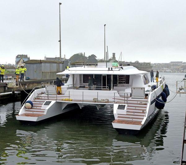 Long Island 85 sailing catamaran
