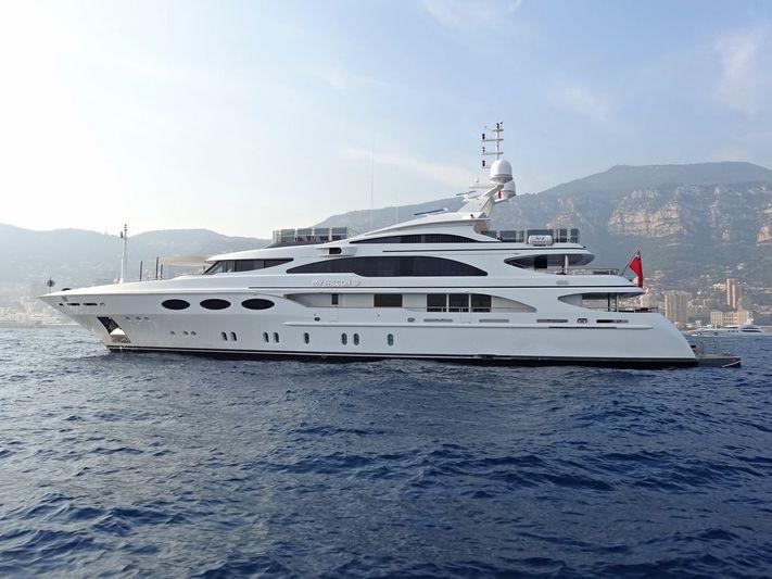 MY FALCON yacht Benetti