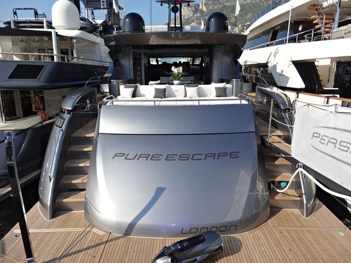 ALDEBARAN III yacht Pershing