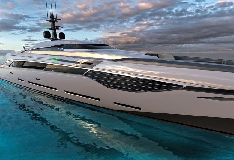 Rossinavi 55m concept Zephyr