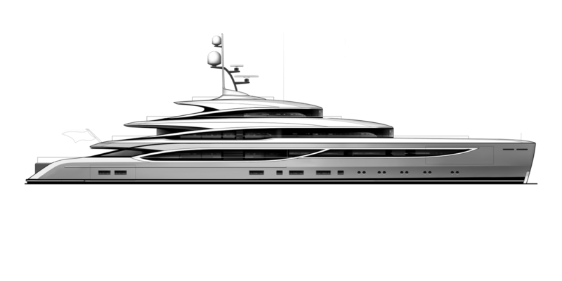 Benetti Now series design by RWD
