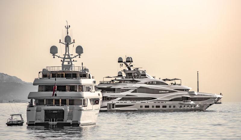 Apogee and Lionheart in Monaco