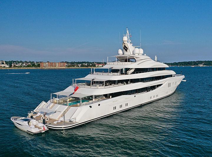 Lady Lara yacht by Lürssen in Newport