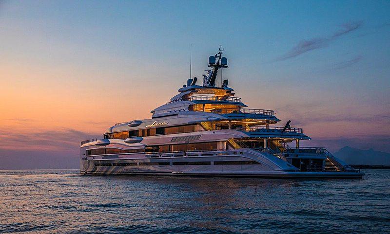 Yacht Lana par Benetti