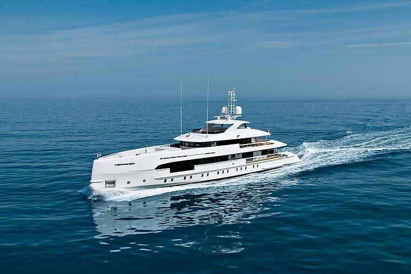 AMARE II yacht Heesen