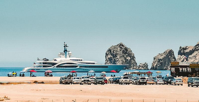 Anna yacht in Cabo San Lucas