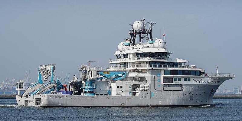 OceanXplorer yacht sea trials