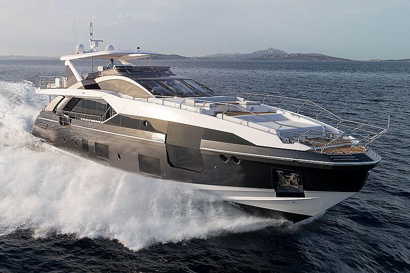 Azimut Grande 27 metri yacht exterior