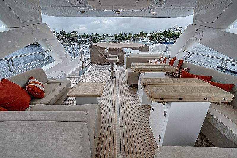 Forward Unlimited yacht sundeck
