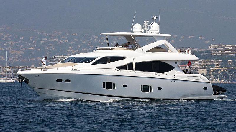 SPLASHED OUT yacht Sunseeker