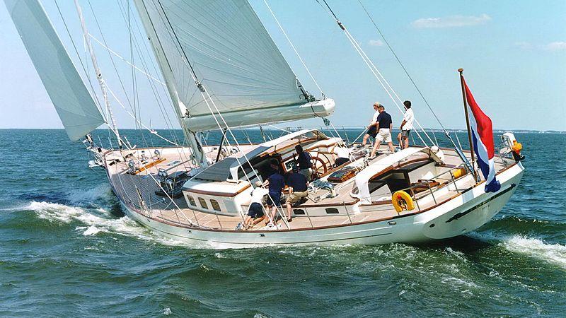 Foftein II yacht sailing