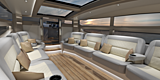 Compass Latitude North tender interior rendering