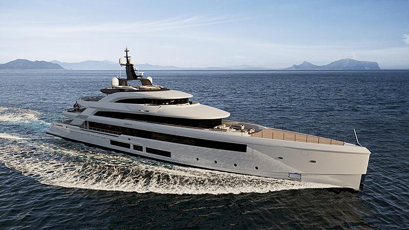 Project Rinascimento yacht exterior design