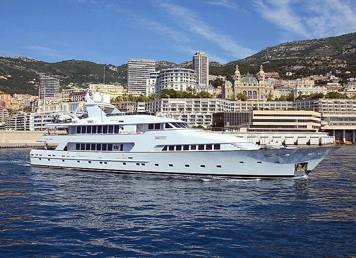 Amorazur II yacht by Palmer Johnson on Monaco